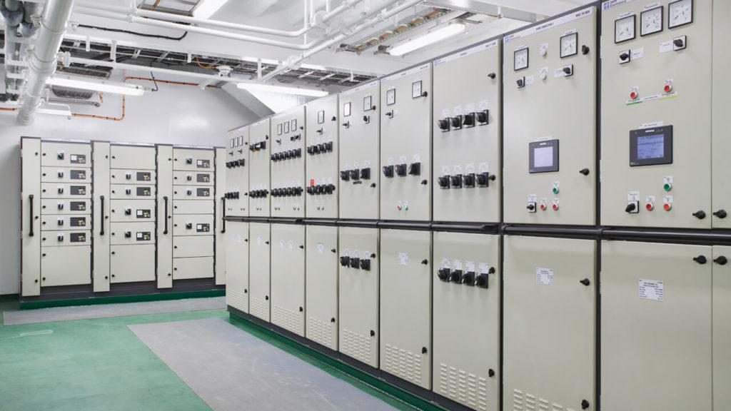 Gehäuse Stromverteilungen Maritime Industrie
